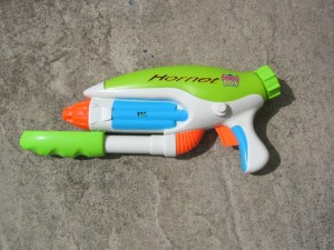Water pistol from Toys R Us