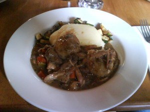 Rabbit and Venison stew