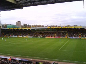 Carrow Road, G Wattling City Stand