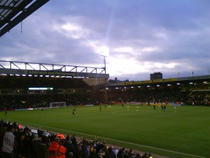 Carrow Road - N&P Stand