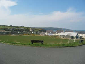 The pitch of Broad Haven Football Club?