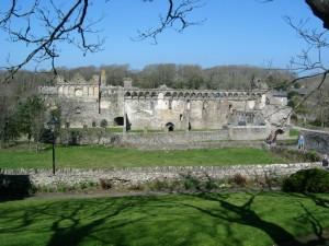 The ruins of Bishops Palace