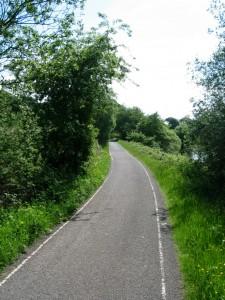 A wheel friendly path