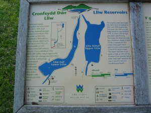 Map of the reservoirs