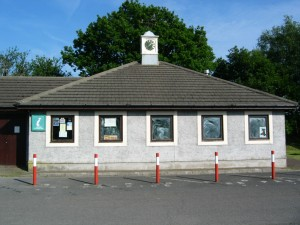 A closed cafe