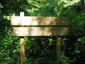Nixon or Trussler trail?