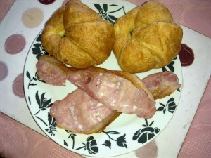 Croissants and Bacon