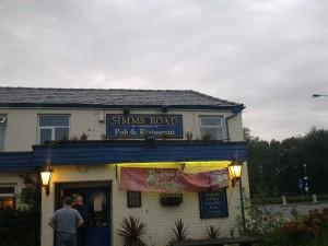 Sim's Road pub and restaurant