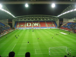 View of the South Stand