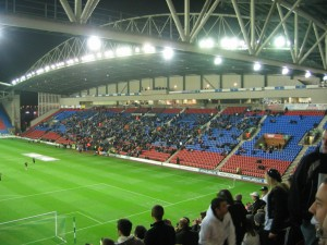 View of the West Stand