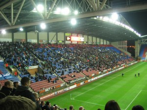 View of the East Stand