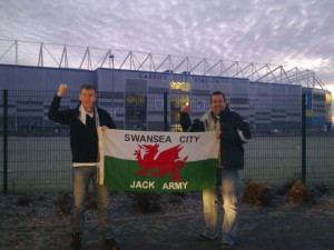 Swansea Jacks outside Legoland