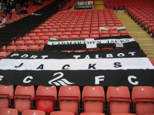 Swansea City flags