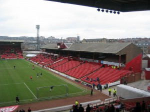 West Stand at Oakwell - Barnsley FC