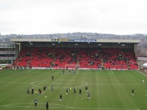 Pontefract Road End at Oakwell - Barnsley FC