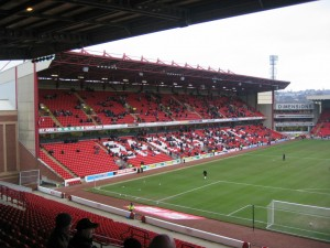 East Stand at Oakwell - Barnsley FC