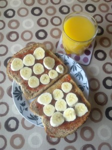 Breakfast for runners!