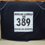 My Llanelli 10K race number
