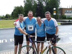 Parkinson's Swansea Ride - Team Photo