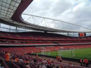 Emirates Stadium - tunnel side