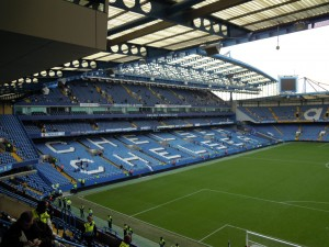 The West Stand at Chelsea
