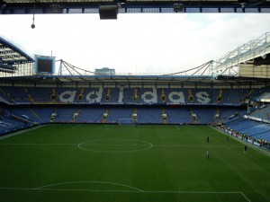 The Matthew Harding Stand at Chelsea