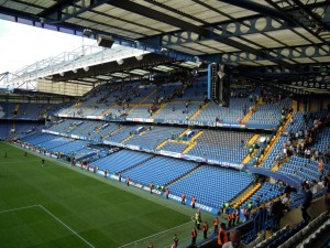 The East Stand at Chelsea