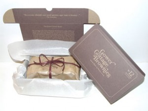 Gower Cottage Brownie packaging