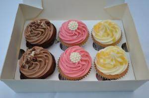 Cupcakes selection box