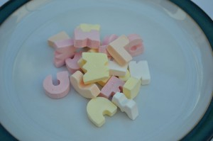 Candy Letter sweets