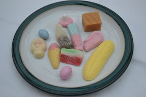 Some old fashioned retro sweets