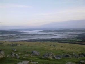 View from the Black Mountains
