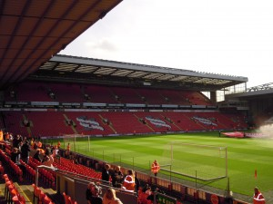 Centenary Stand at Anfield