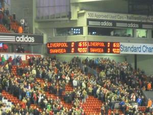 Final Score at Anfield