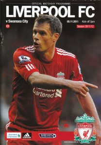 Liverpool v Swansea Programme Cover