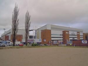Ewood Park - home of Blackburn Rovers