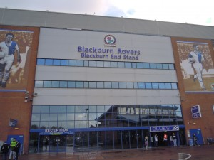 Ewood Park - Blackburn End Stand