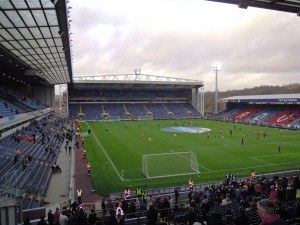 The view from the Darwen End stand
