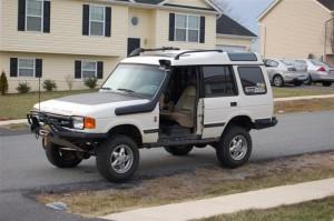 Doorless Dave's Range Rover