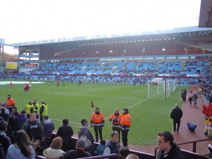 Good afternoon from Villa Park