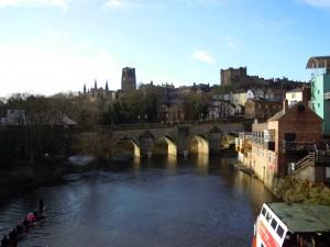 Elvet Bridge in Durham