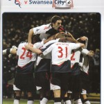 Bolton Wanderers v Swansea Programme Cover