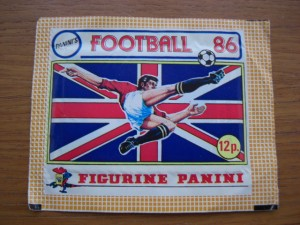 Panini football stickers