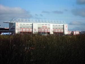 The Britannia Stadium from the A500