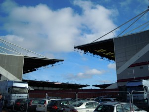 The Britannia Stadium wind tunnel