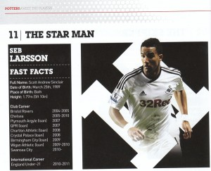 Swansea's new signing - Seb Larsson