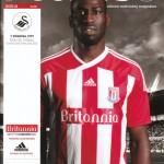 Stoke v Swansea programme cover