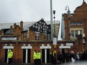 Welcome to Craven Cottage