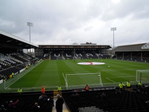 Hammersmith End at Craven Cottage