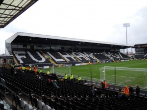 Riverside Stand at Craven Cottage